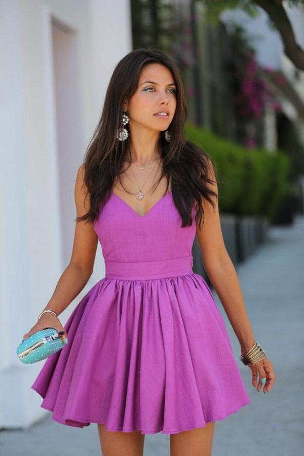 leylak rengi kıyafet