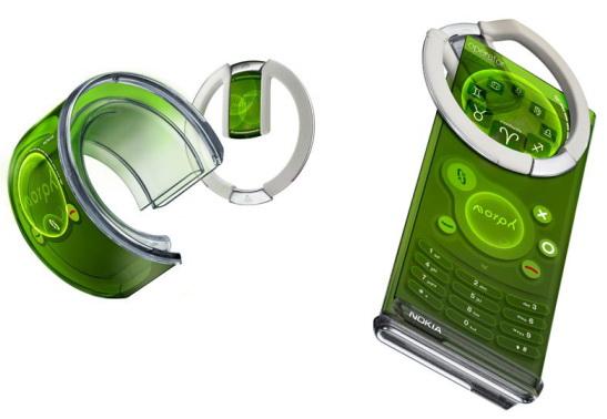 morph nanoteknolojik telefon