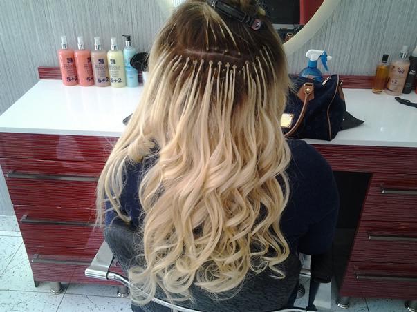 Sarı saça kaynak